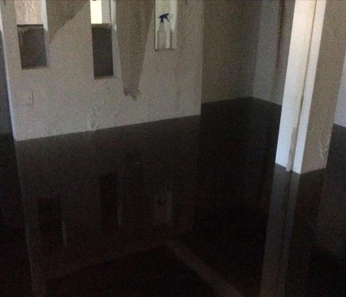 Water Damage San Angelo Residents:  We Specialize in Flooded Basement Cleanup and Restoration!
