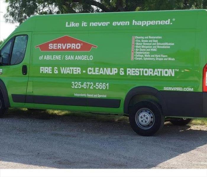 General For Immediate Service in the Concho Valley, Call SERVPRO